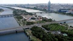 Nur eine Bühne für das Donauinselfest in Zeiten von Corona (Bild: Gerhard Bartel)