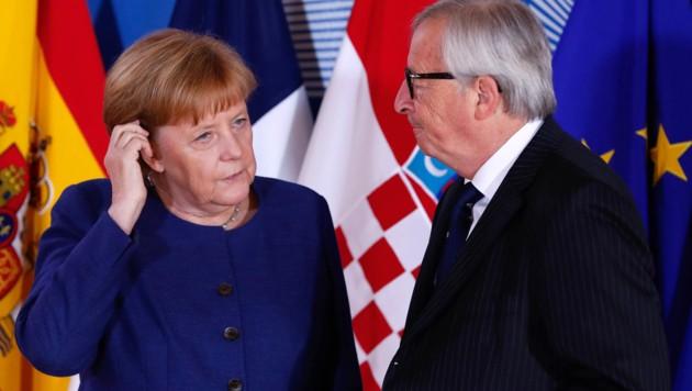 (Bild: APA/POOL/AFP/YVES HERMAN)