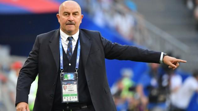 Russlands Teamchef Stanislaw Tschertschessow (Bild: AFP)