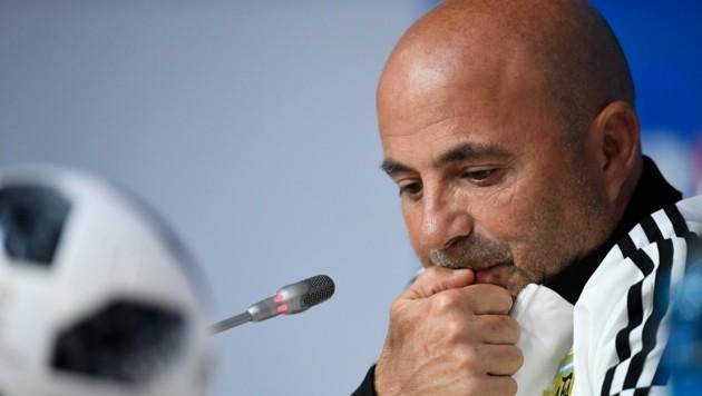 Jorge Sampaoli (Bild: AFP)