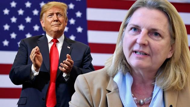 """Kneissl: """"Sehe Trump nicht als großes Dilemma"""""""