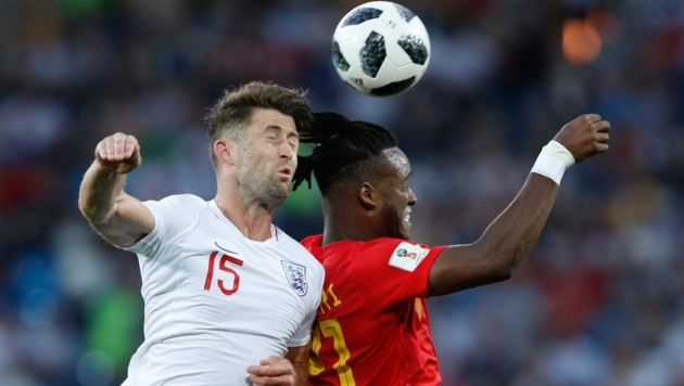 Gary Cahill, Michy Batshuayi (Bild: ASSOCIATED PRESS)