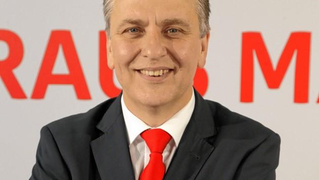 Josef Taucher, Vorsitzender des SPÖ-Rathausklubs (Bild: Klemens Groh)