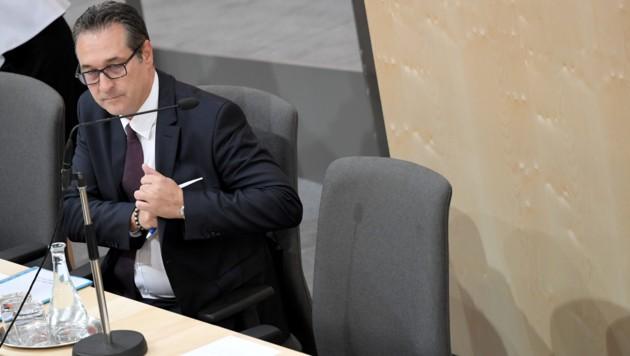 FPÖ-Chef Strache (Bild: APA/ROLAND SCHLAGER)