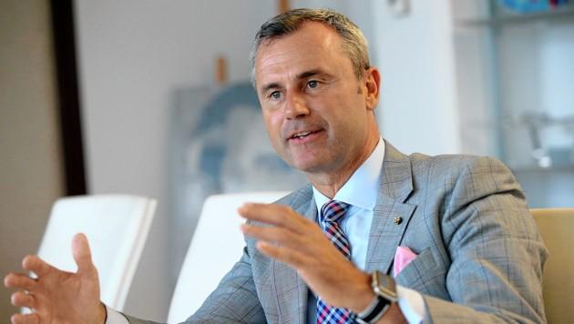 Norbert Hofer, FPÖ (Bild: Peter Tomschi)