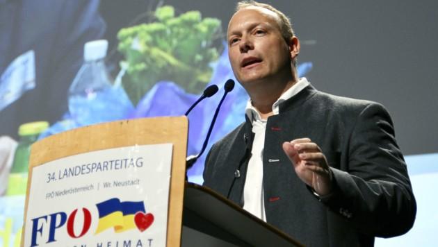 Christian Höbart (Bild: APA/HANS PUNZ)