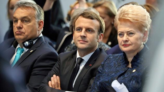 Weil sein Botschafter in Ungarn die Flüchtlingspolitik von Ministerpräsident Viktor Orban gelobt hatte, tauschte Frankreichs Präsident Emmanuel Macron den Diplomaten in Budapest aus.