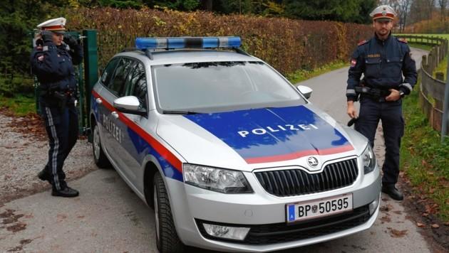 Die Polizei hat die Lage im Griff und informierte Anrainer.