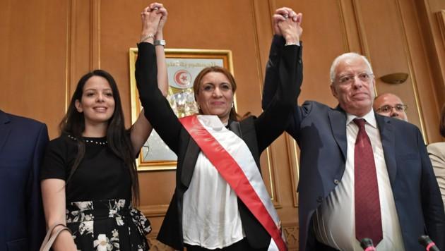 Erstmals regiert eine Frau in Tunesiens Hauptstadt