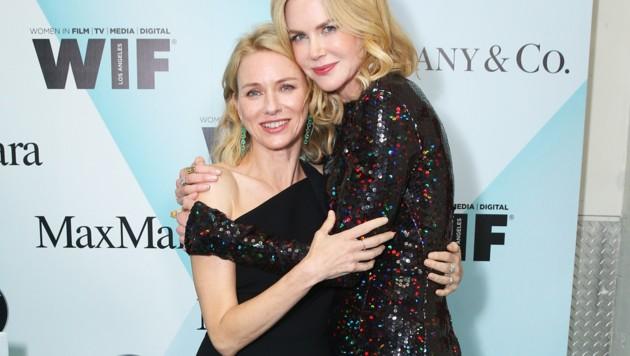 Naomi Watts und Nicole Kidman kennen sich seit der Schulzeit. (Bild: 2015 Getty Images)
