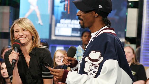 Cameron Diaz hat in der Schule von Snoop Dogg Gras gekauft. (Bild: 2008 Getty Images)