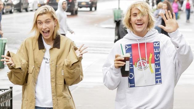 Hailey Baldwin und Justin Bieber (Bild: www.PPS.at)