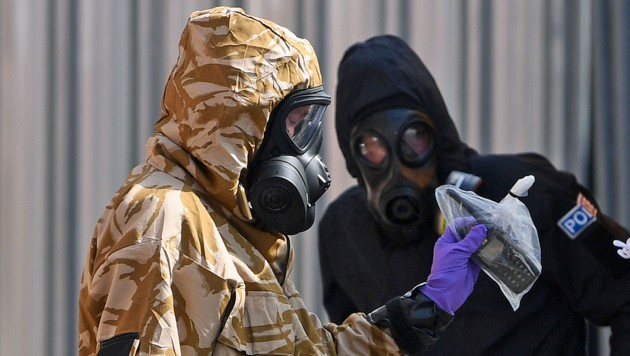 Nach dem zweiten Vergiftungsfall innerhalb weniger Monate ging in Großbritannien die Nowitschok-Angst um.