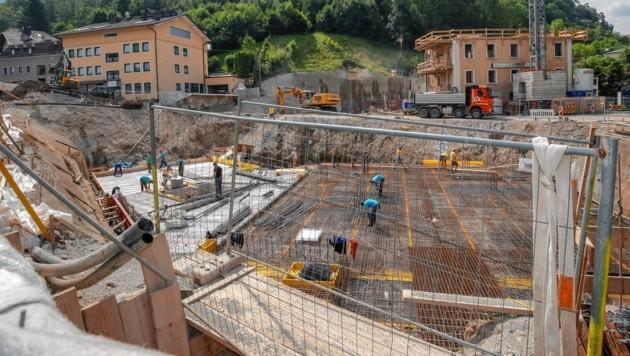 Baustelle Obergnigl
