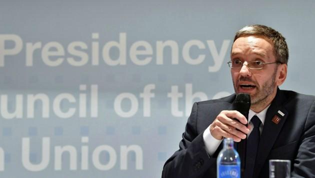 Innenminister Herbert Kickl (FPÖ) (Bild: APA/BARBARA GINDL)