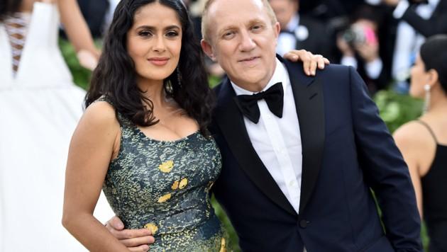 Salma Hayek und Francois-Henri Pinault (Bild: 2018 Getty Images)