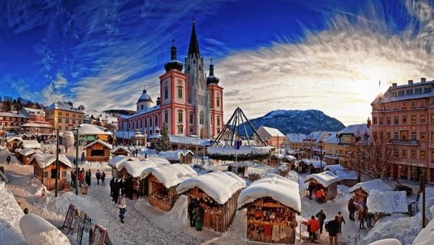 Der Mariazeller Adventmarkt (Bild: Mariazellerland/Fred Lindmoser)
