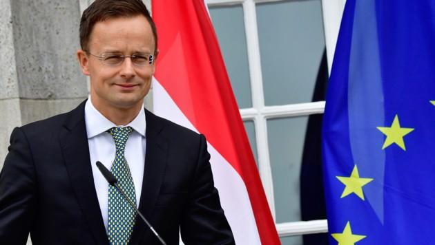Der ungarische Außenminister Peter Szijjarto (Bild: AFP or licensors)