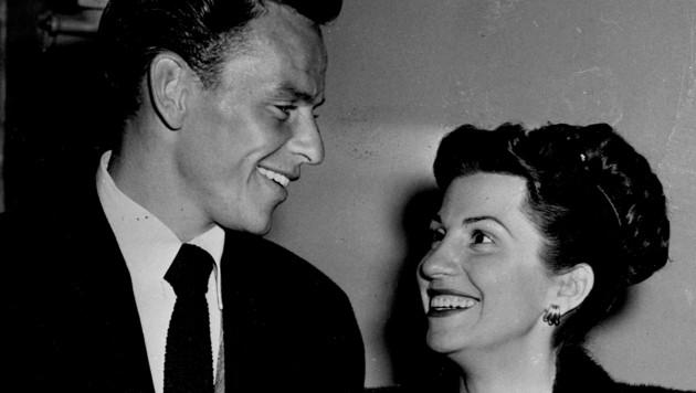 Frank und Nancy im Jahr 1946