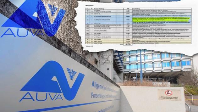 Sparplan für AUVA ist fertig: 486 Millionen Euro