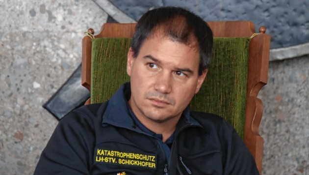 Der steirische SP-Chef Michael Schickhofer