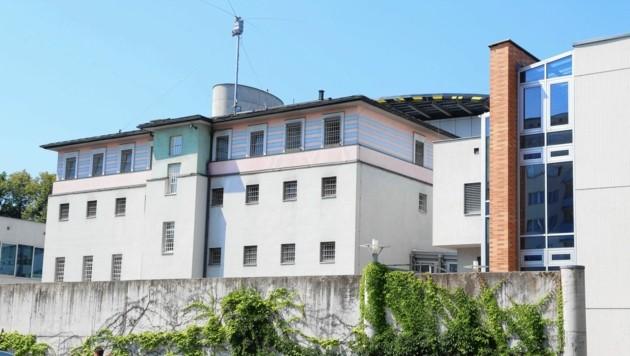 Der Aggressive wurde ins Polizeianhaltezentrum Klagenfurt gebracht (Bild: Evelyn Hronek)