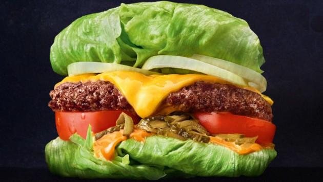 Burger ohne Brötchen gibt's nun neu im Sortiment.