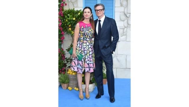 Colin Firth und Livia Firth