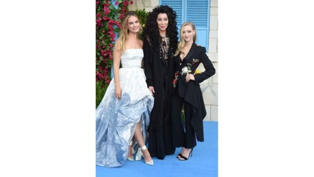 Lily James, Cher und Amanda Seyfried