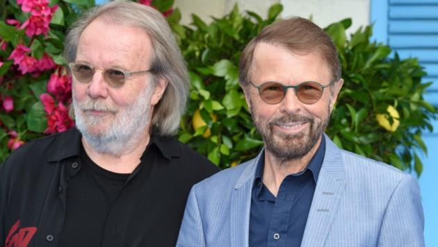 Bjorn Ulvaeus und Benny Andersson (ABBA)