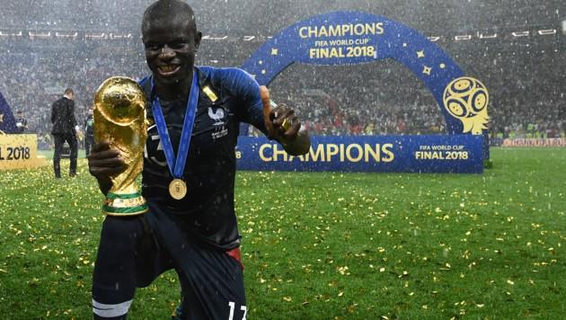 N'Golo Kante , hier im Dress von Frankreichs Nationalmannschaft (Bild: AFP)