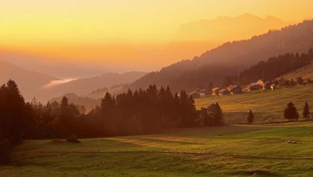 Der Bregenzerwald zählt zu den beliebten Reisezielen. (Bild: Bregenzerwald Tourismus)