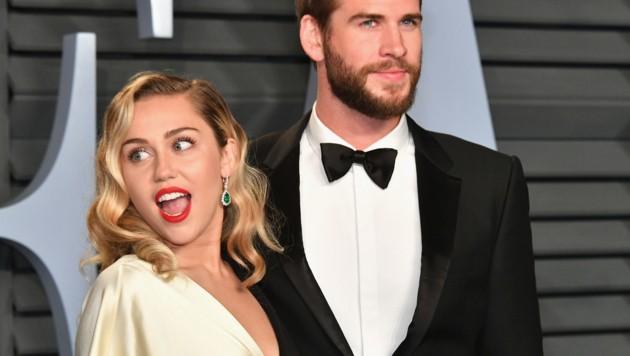 Liam Hemsworth und Miley Cyrus (Bild: 2018 Getty Images)