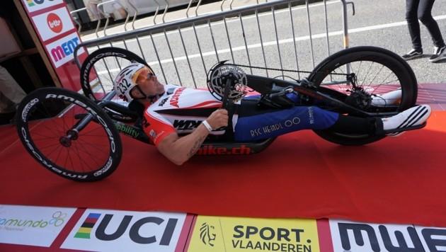 Christoph Stadlbauer hat sich für die Handbike-WM in Italien qualifiziert.
