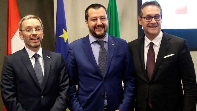 Salvini plant Populisten-Allianz – auch mit FPÖ