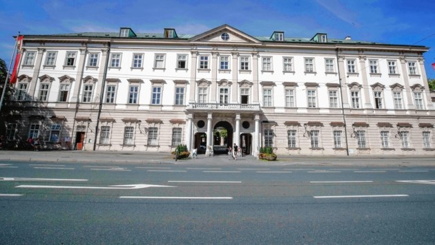 Ab 1. September gilt ein Parkverbot im Schloss Mirabell