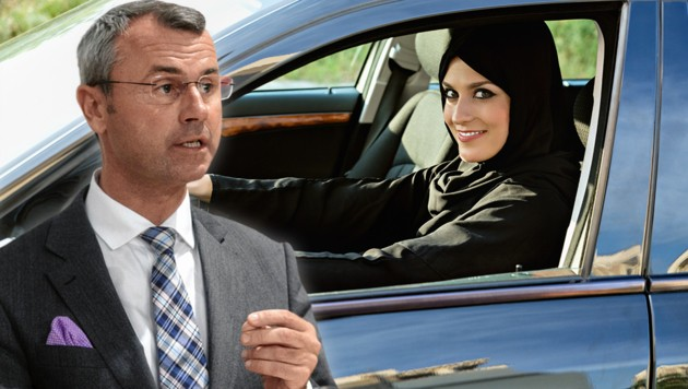 "Verkehrsminister Norbert Hofer (FPÖ): ""Kein Test in Türkisch mehr."" (Bild: SEPA.Media/Martin Juen, stock.adobe.com, krone.at-Grafik)"