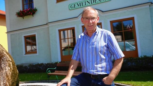 Bürgermeister Josef Guggenberger.