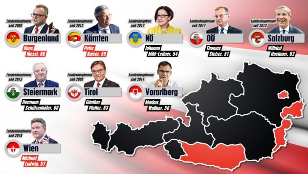 (Bild: APA, Land Tirol, Zwefo, stock.adobe.com, krone.at-Grafik)