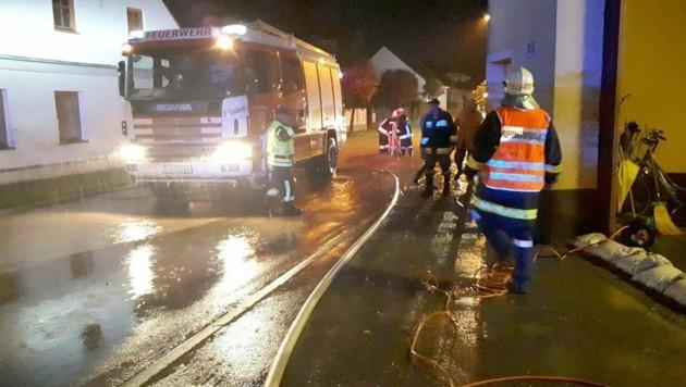 Feuerwehreinsatz in Niederösterreich (Bild: APA/BFKDO TULLN)