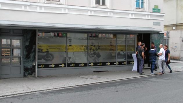 Dieses Wettcafe in der Grazer Griesgasse wurde überfallen