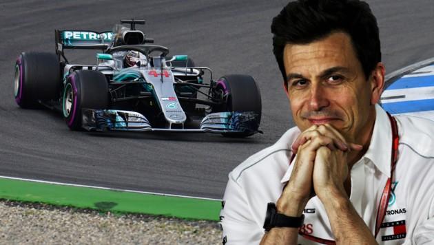 Mercedes-Boss Toto Wolff (Bild: GEPA, AFP)