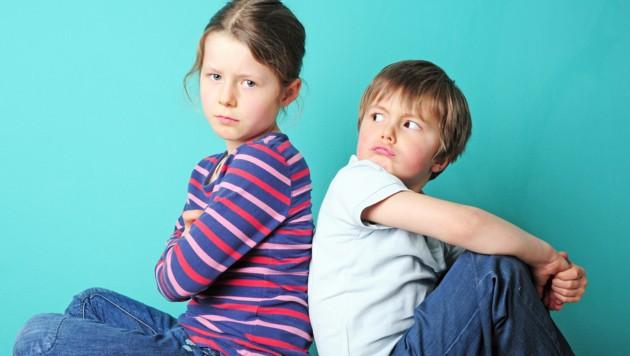 Nicht immer sind sich Geschwister einig - und das ist auch okay so ... (Bild: stock.adobe.com)