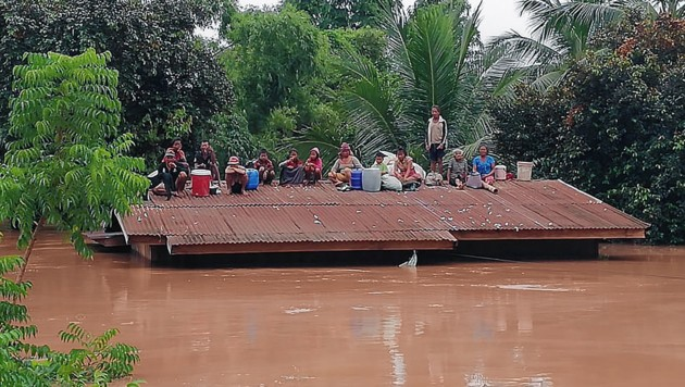(Bild: EPA/ABC Laos News)