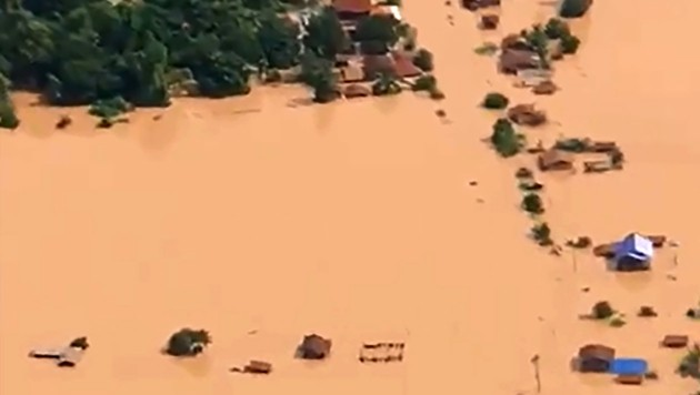 (Bild: AFP/ABC Laos News)