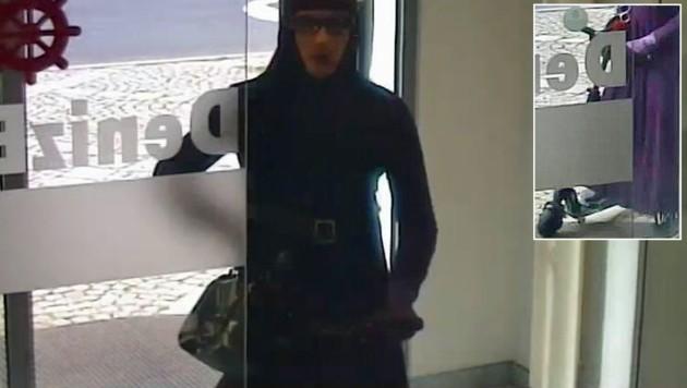 Diesen Mann sucht die Polizei nach einem Bankraub in Linz.