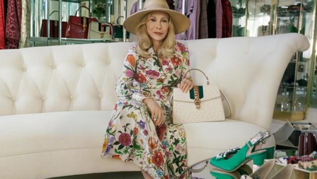 Faye Dunaway wirbt für Gucci (Bild: Gucci)