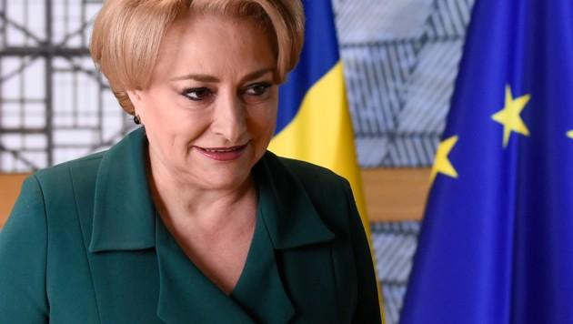 Die rumänische Regierungschefin Vasilica Viorica Dancila (Bild: AFP)