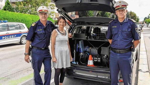 Police uhren innsbruck