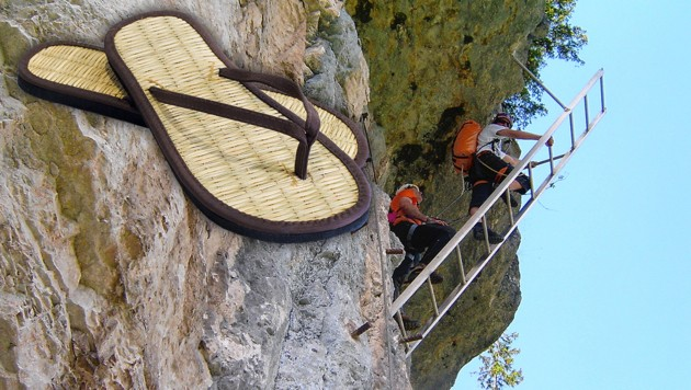 Klettersteig Hallstatt : Bergfex echernwand klettersteig c d bei hallstatt